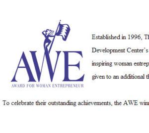 SBDC Women of Merit Award